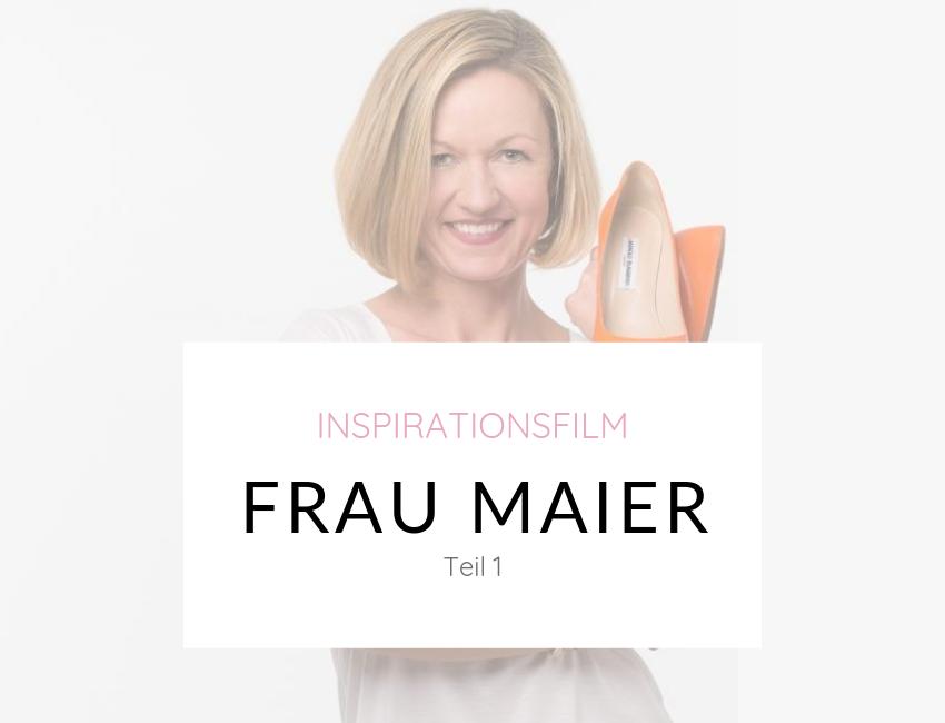 """""""Denke nach und werde reich"""" für Frauen: Katharina (FRAU) MAIER – Teil 1"""